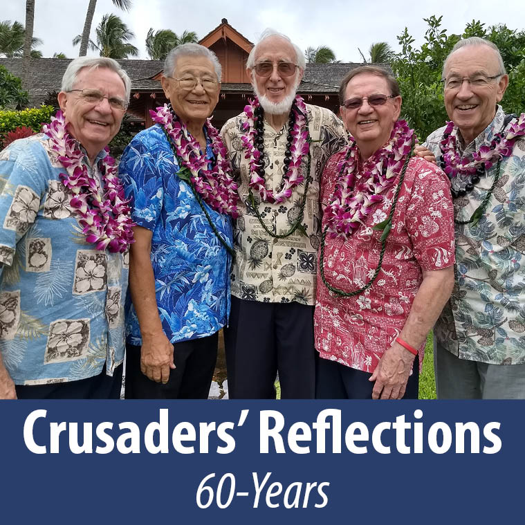 Crusaders Quartet 60 reunion in Hawaii