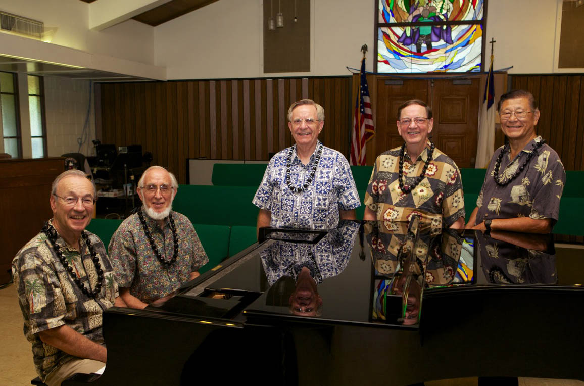 Crusaders Quartet 55th reunion in Hawaii