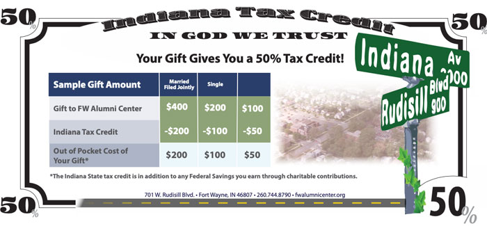 Tax Credit Info - Giving