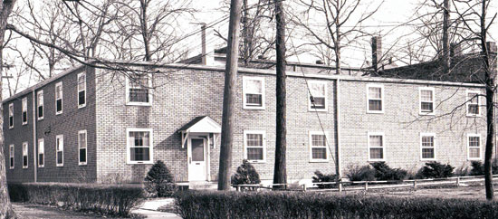 1945 – 2. Providence Hall was constructed for $25,000