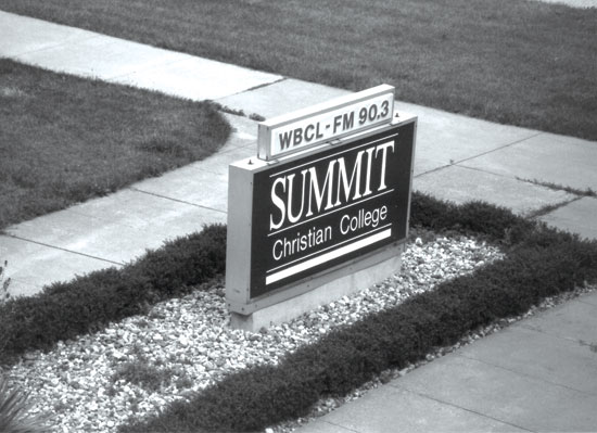 1989 – 1. Name changed to Summit Christian College.