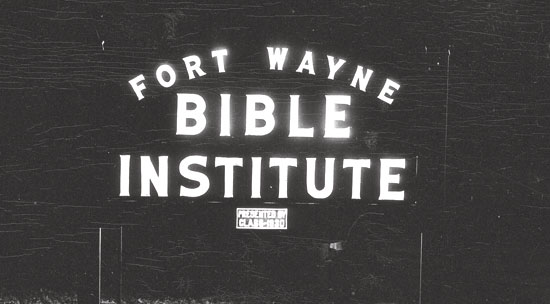 1948 – 2. FWBI, one of 18 Charter Members of the Accrediting Association of Bible Institutes and Bible Colleges