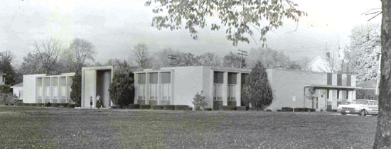 1961 — Lehman Library dedicated ($300,000); It was the first building on the south campus.